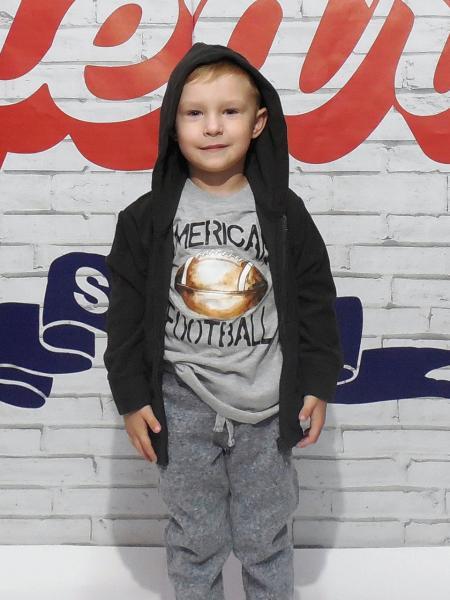 Толстовка для мальчика Бренд Fox Израиль 6 лет рост 110-116 см