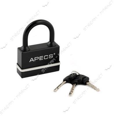Замок навесной APECS PDR-54-50 в резине