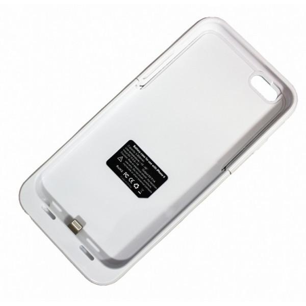 Чехол с аккумулятором для iPhone 6 - Palmexx Morphie 3800 мач - White