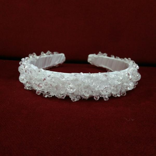 Ободок расшитый кристаллами/Венок из кристаллов