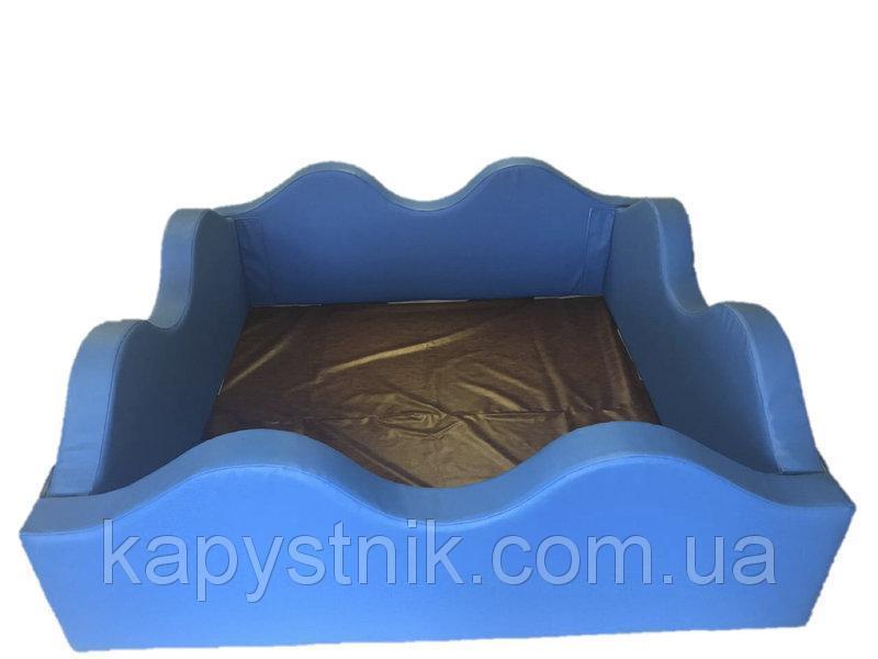 Сухой бассейн Волна 120*120*40 см Тia-sport