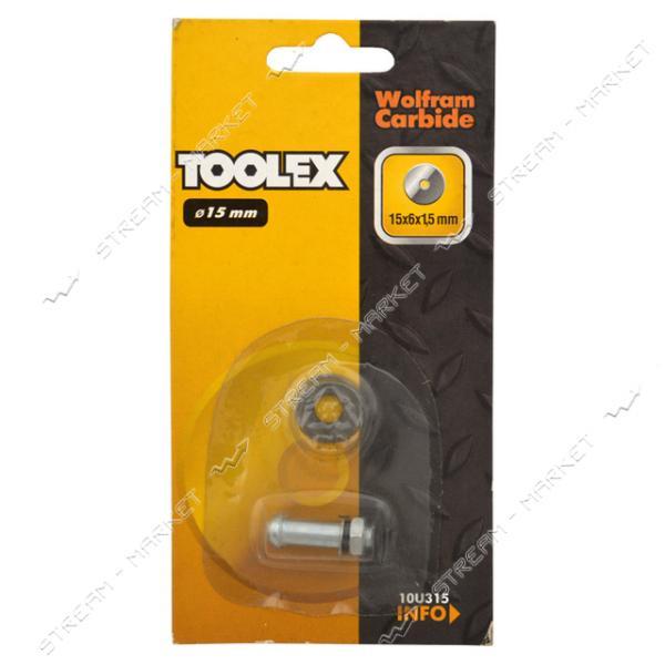 Ролик для плиткореза TOOLEX 15х6х1.5мм