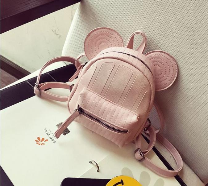 """Рюкзак  мини розовый """"Микки"""""""