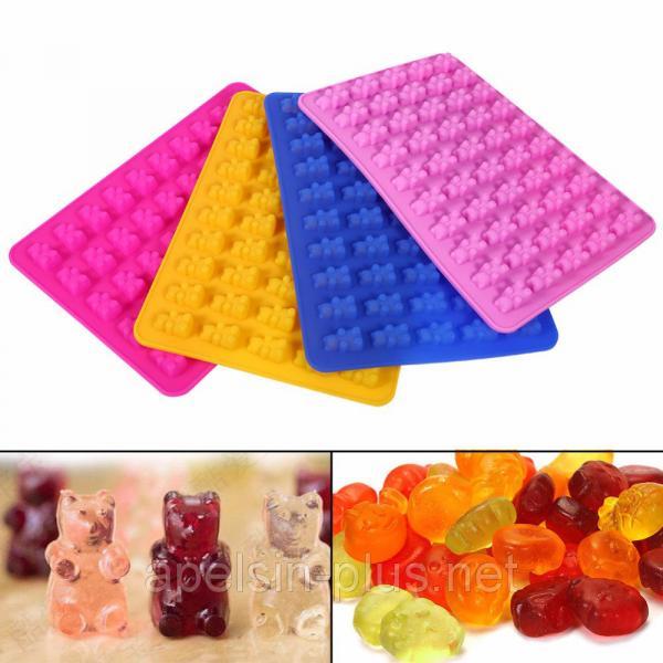 Фото Силиконовые формы для выпечки, Формы для шоколада и льда Силиконовая форма для мармелада Gummy Bears