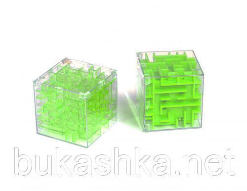 """3D головоломка """"Лабиринт"""" (зеленая)"""