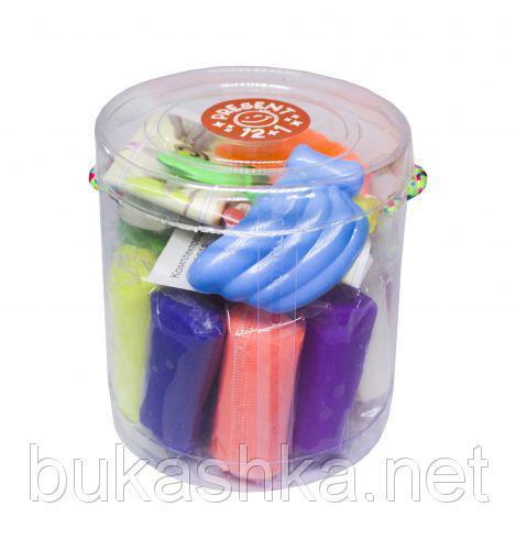 "Набор для лепки ""Master-Do"", тесто и формочки, 12+1 цветов"