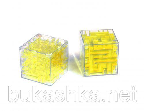 "3D головоломка ""Лабиринт"" (желтая)"