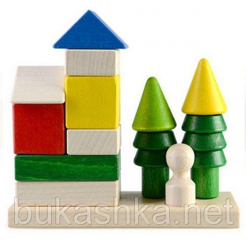 """Пирамидка-конструктор """"Загородный дом"""""""