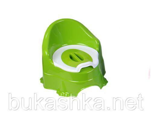 Горшок детский (зеленый)