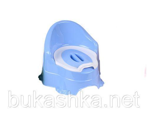 Горшок детский (синий)
