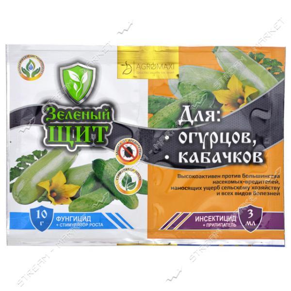 АГРОМАКСИ Зеленый щит для огурцов и кабачков 3мл 10г