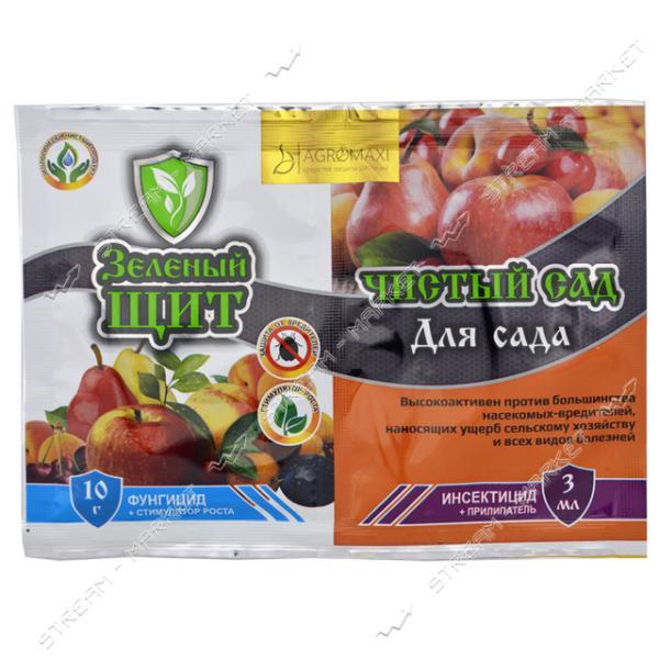 АГРОМАКСИ Зеленый щит Чистый сад для фруктовых деревьев 3мл 10г