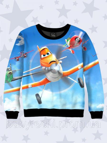 Детский 3D свитшот Пилоты  для мальчика 80-152