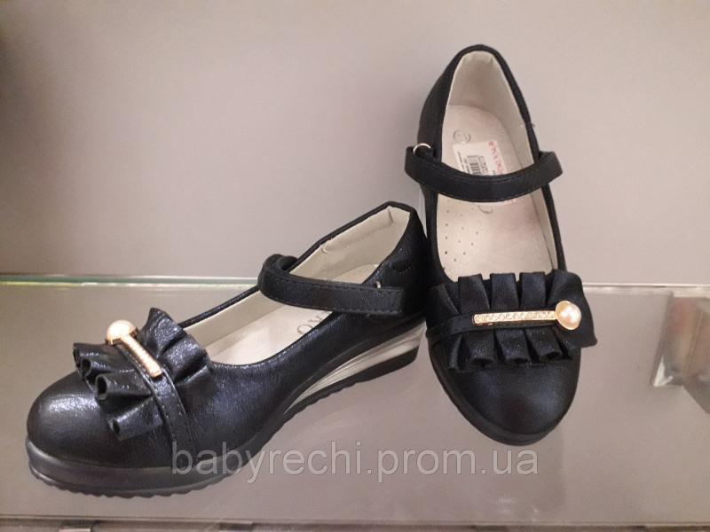 Детские туфли девочке на танкетке 27-32 р 32