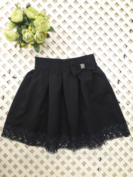 Стильная юбка девочке 116-134 см 128