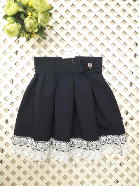 Красивая юбка для девочки 122-134 см