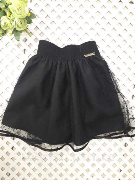 Красивая юбка с сеткою, девочке 122-134 см 134
