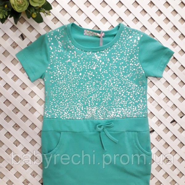 Платье-туничка девочки на 4, 8-10,10-12 лет 12