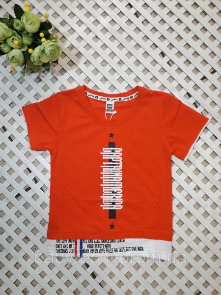 Модная детские и подростковые футболки для мальчика