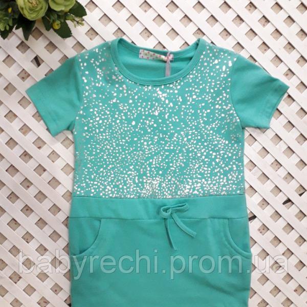 Платье-туничка девочки на 4, 8-10,10-12 лет 4