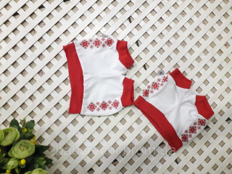 Шорты для новорожденного мальчика в украинском стиле 56