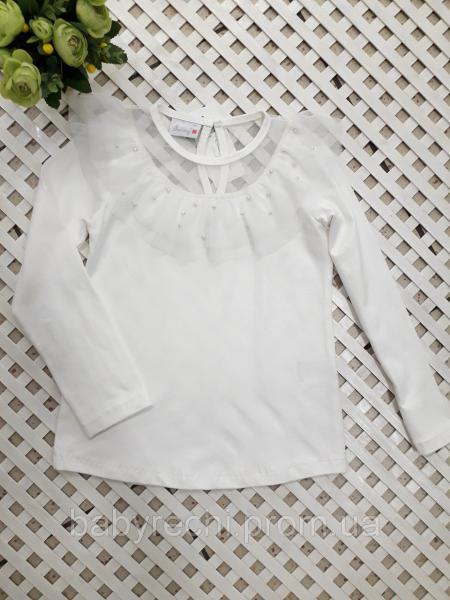 Нарядная кофта-блуза девочке 128-152 см