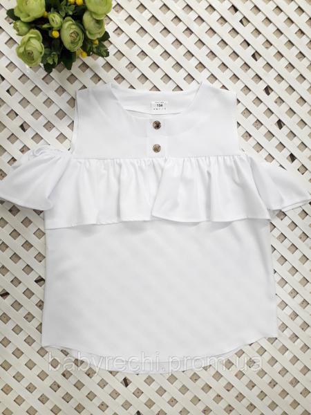 Блузка девочке свободного кроя 140-158 см