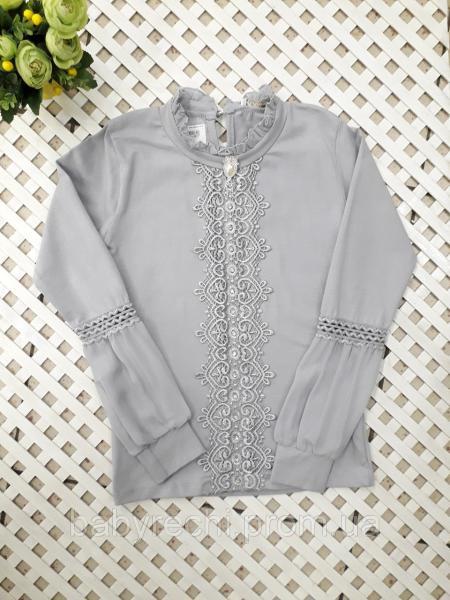 Красивая водолазка-блузка на 10-16 лет