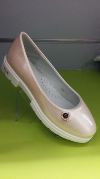 Детские и подростковые туфли для девочки Леопард 30-37 33