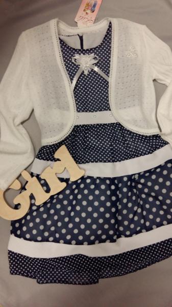 Нарядное детское платье с болеро для девочки 6-7 лет 6-7