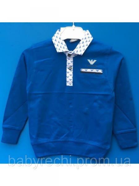 Стильная кофта-обманка Armani  на мальчика 92-110 110