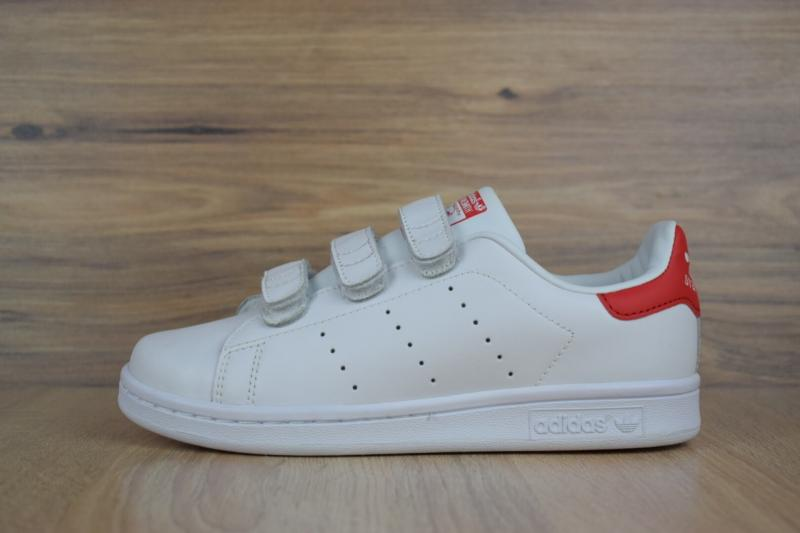 Фото  Adidas Stan Smith White Red (36-40)