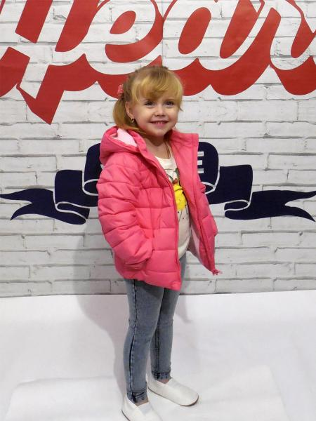 Курточка для девочки Бренд Fox Израиль 18-24 мес. размер 80-86 см.