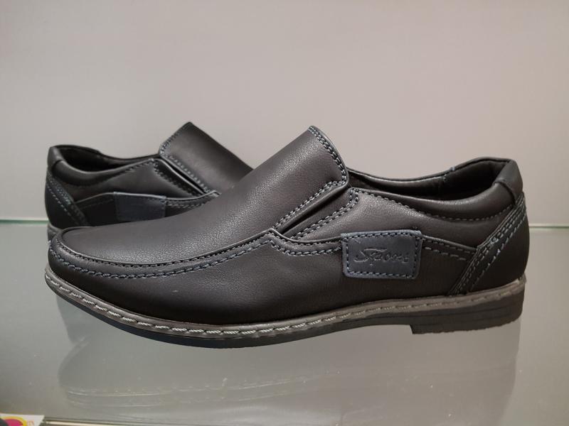 Детские туфли школьные для мальчика Paliament 27-32 черные 30