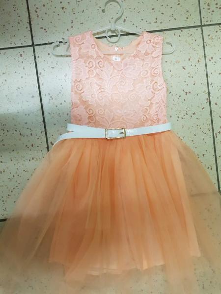 Нарядное детское и подростковое платье для девочек 128-152