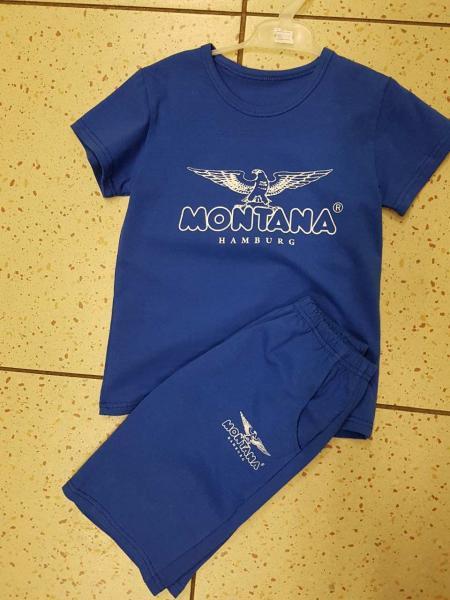 Детский летний костюм для мальчика футболка и шорты Montana 116 116