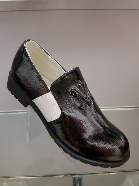 Туфли лакированные для девочки  Winiko черные 31-37 36