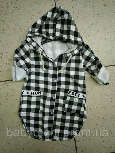 Детская теплая рубашка на девочку Kids Star. 4 4