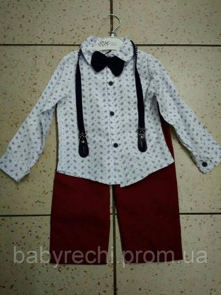 Детский нарядный костюм двойка MN Murkyy на мальчика 98