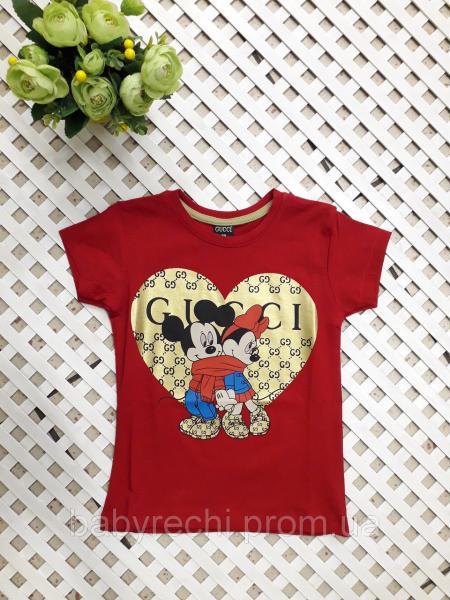 Детская футболка Микки 104-152 140