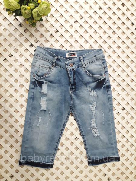 Джинсовые шорты на 8-13 лет 9