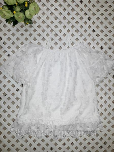 Детская нарядная футболка, блузка на 8-11 лет 8