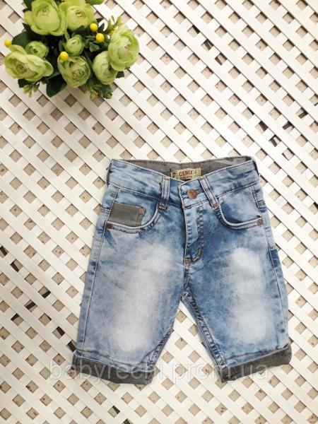 Джинсовые шорты на 2-6 лет 2