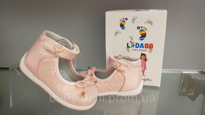 Детские ортопедические розовые туфельки для девочки 19-26 24