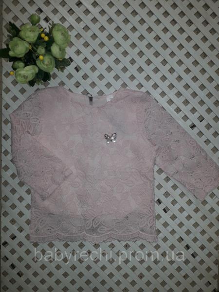 Красивая блуза (топ) для девочки 128-152 см 146