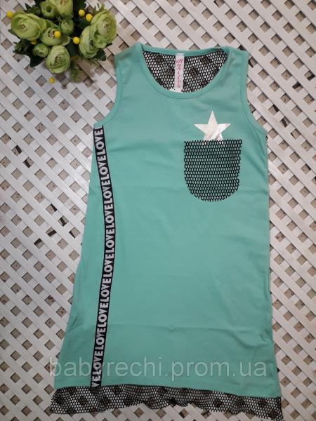Модное летнее платье 164