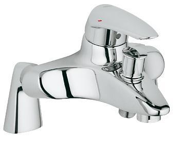 Смеситель однорычажный на борт ванны Grohe коллекция Eurodisc хром 33392001