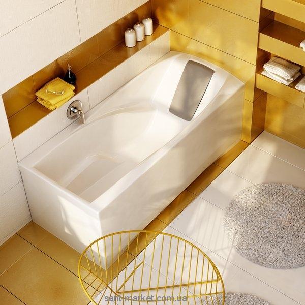 Ванна акриловая прямоугольная Ravak коллекция You PU-PLUS 175х85х61 C041000000