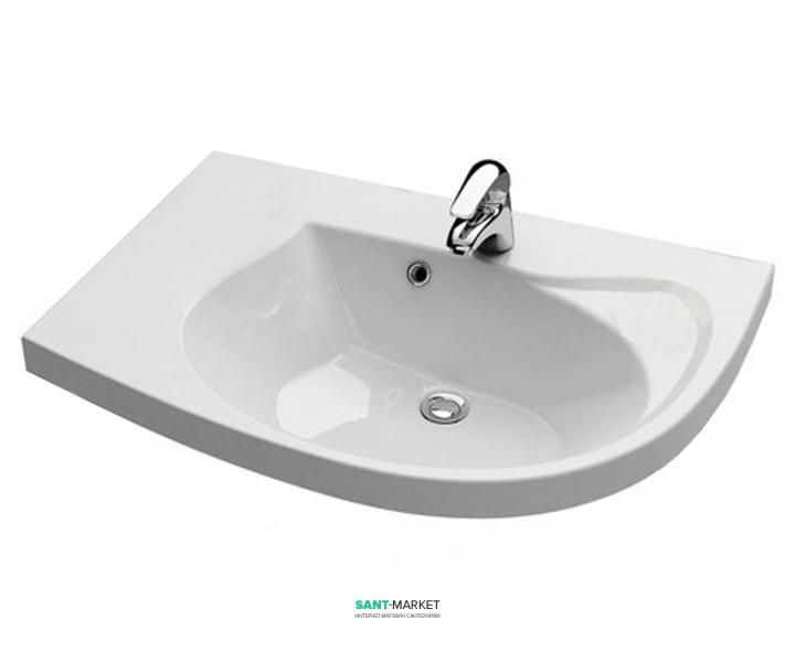 Раковина для ванной подвесная Ravak коллекция Rosa Comfort белая XJ8L1100000