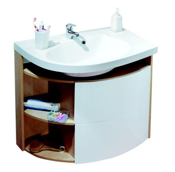 Раковина для ванной на тумбу Ravak коллекция Rosa Comfort белая XJ8P11N0000